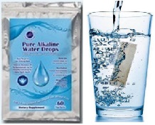 Pure Alkaline Water Drops With Bioavaliable Coral Calcium
